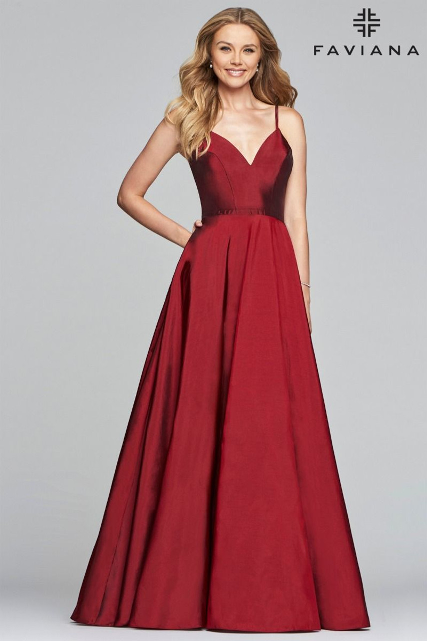 24c962e4193 Faviana S10249 - B Chic Fashions