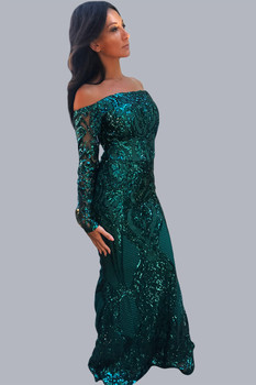 The Dolce Green Gown