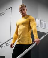 Avid Seamless Long Sleeve - Yellow