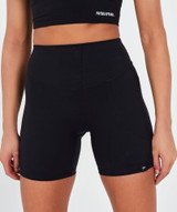 Lux High Waisted Shorts - Black