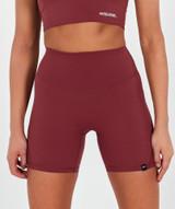 Lux High Waisted Shorts  - Blush