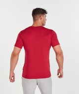 Outline TShirt - Faded Red