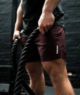BreatheLite Sport Shorts - Port Red