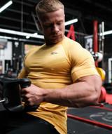 Avid Seamless TShirt - Yellow