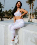 Allure Leggings - Pink Camo