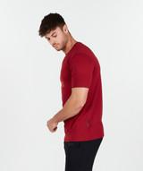 Cyber TShirt - Crimson Red