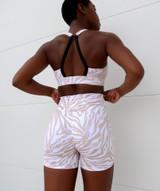 Allure Shorts - White Zebra
