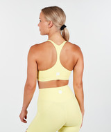 Lux Sports Bra - Solar Yellow