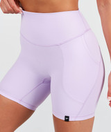 Lux High Waisted Shorts  - Ultra Lilac