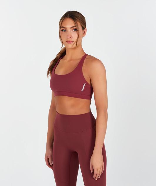 Lux Sports Bra - Blush