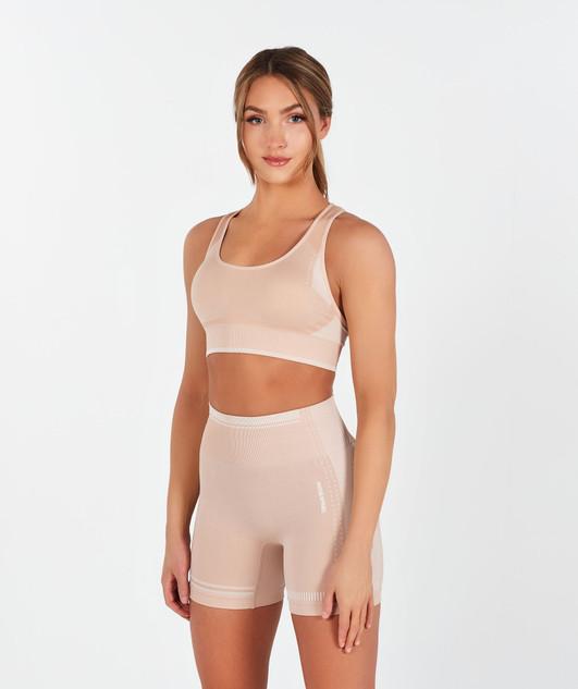 Motion Seamless Sports Bra - Desert Pink