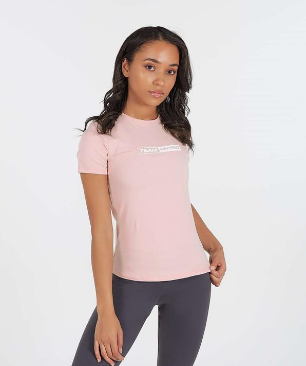 TeamPhysiq T-Shirt - Pastel Pink