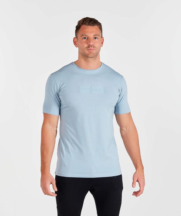 Sliced TShirt - Light Blue