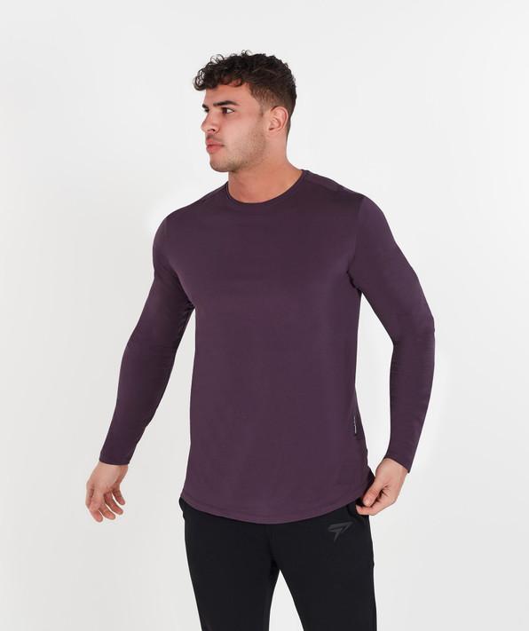 Lifestyle Long Sleeve - Midnight Purple