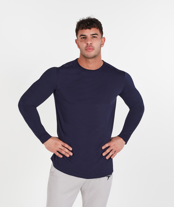 Lifestyle Long Sleeve - Navy
