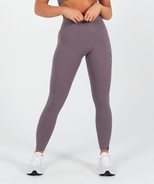 Lux High Waisted Leggings - Moon Rock