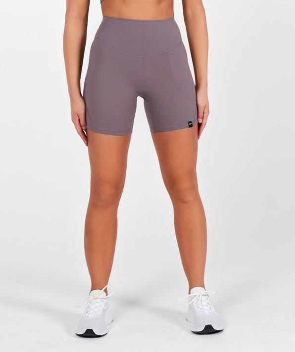 Lux High Waisted Shorts - Moon Rock