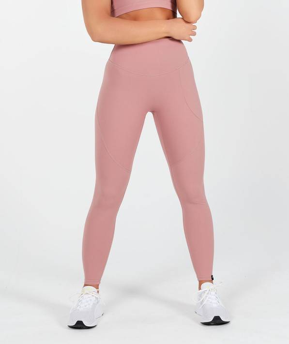 Lux High Waisted Leggings - Dusty Rose