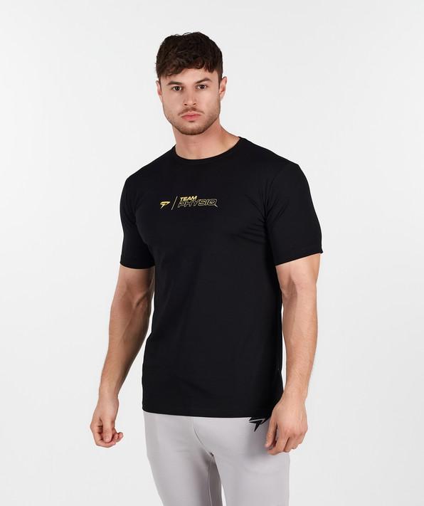 TeamPhysiq Minimal TShirt - Black