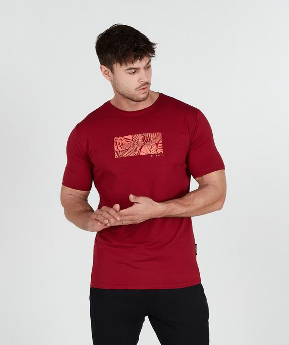 Native TShirt - Crimson Red