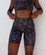 Allure Shorts - Black Zebra