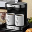Cuisinart® BRU 2-Cup Coffeemaker, Black/Stainless Steel