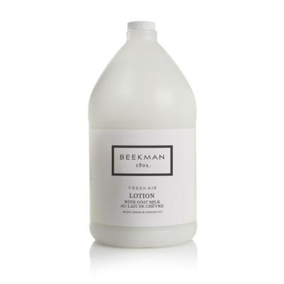 Beekman 1802 Fresh Air Lotion with Goat Milk Gallon