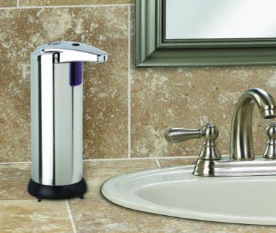 Better Living 70190 Touchless Stainless Steel Dispenser, 7.6 oz