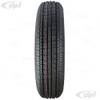 ACC-C10-6654 - 165/80 R 15 INCH RADIAL TIRE - NEW ADVANCED TREAD DESIGN - OE VW SIZE FOR BEETLE GHIA & TYPE-3 - SOLD EACH