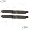 VWC-311-609-485-PR - (311609485) EXCELLENT QUALITY - PAIR OF BACKING PLATE BRAKE SHOE ADJUSTING STAR LEAF SPRINGS - SUPER BEETLE 71-79 FRONT ONLY - TYPE-3 64-73 REAR ONLY (WELDING REQUIRED) - SOLD PAIR