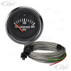 C10-310-901-T2 - 310901 - CIP1 EXCLUSIVE - BLACK FACE COCKPIT (VDO STYLE) CYLINDER HEAD 600F TEMP GAUGE KIT - 52MM 2-1/16 INCH - WITH 6.6MT (21.5 FOOT) WIRING HARNESS & 14MM SPARK PLUG THERMO COUPLER - BUS/VANAGON - SOLD KIT