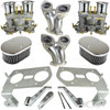 C13-47-7317-CMKT - CIP1 PREMIUM QUALITY - COMPLETE DUAL 40MM/44MM OR 48MM WEBER IDF/HPMX STYLE CARBURETOR KIT - FITS BEETLE/GHIA/BUS WITH 1600CC STYLE ENGINE - SOLD KIT