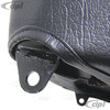 C13-62-2751 - RACE-TRIM SUSPENSION SEATS - IDEA FOR OFF-ROAD - SOLD EACH W/O ADAPTERS - BLACK VINYL/BLACK CLOTH - SOLD EACH