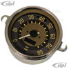 C34-EES9-1B36-00C – OE STYLE EARLY 12V PROGRAMMABLE ELECTRONIC 80 MPH SPEEDOMETER (SENSOR & WIRING HARNESS INCLUDED - SPEEDO CABLE IS NOT INCLUDED) - BUS TO 1967 (ALSO FITS BEETLE TO 67) - 115MM OR 4.5INCH DIAMETER