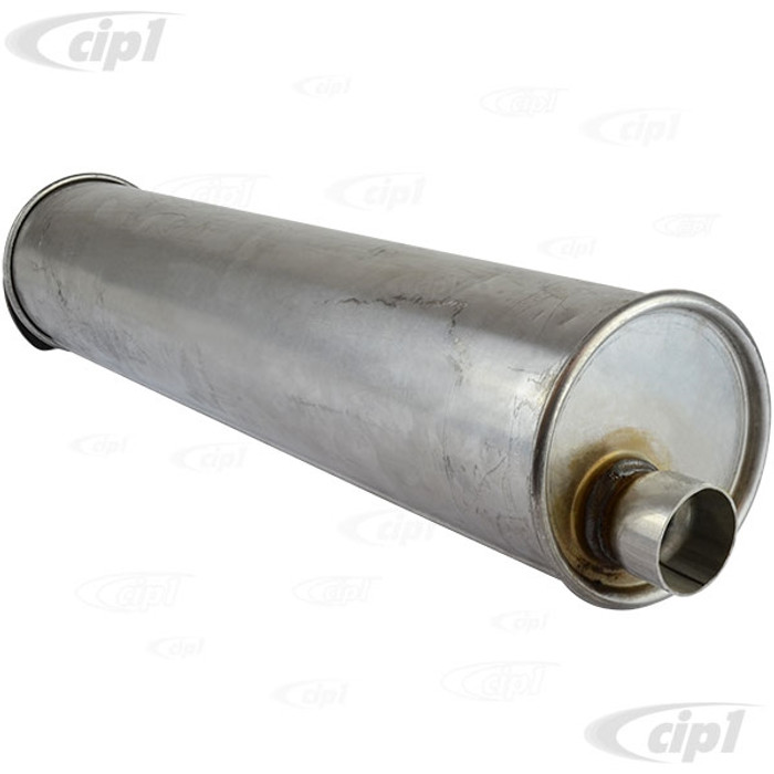 VWC-071-251-053-C - (071251053C) REPLACEMENT MUFFLER WITH SLIP JOINT (MADE BY ANSA) - BUS 75-79 / VANAGON 80-83 (SEE SPECIAL NOTES BEFORE PURCHASE) - SOLD EACH