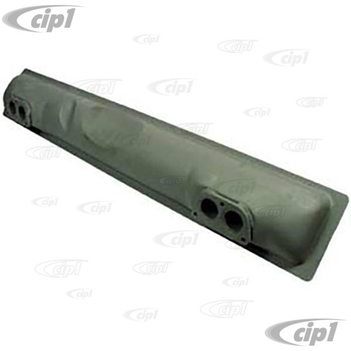 VWC-071-251-053-E - (071251053E) STOCK REPLACEMENT MUFFLER - BUS 72-74 AND 1979 - VANAGON 80-83 (SEE NOTES) - TYPE-4 ALL (DOES NOT HAVE EGR OR CAT CONVERTER PROVISION) - SOLD EACH