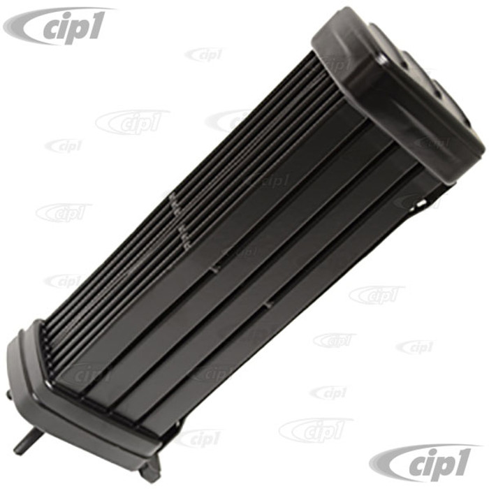 VWC-111-117-021-EAL - NEW ALUMINUM DESIGN - OIL COOLER W/ 10MM HOLES 40HP 12-1600CC (ALUMINUM FINS FOR SUPERIOR COOLING) - BEETLE 61-70 / GHIA 61-70 / BUS 60-70 (SEE SPECIAL NOTES BEFORE PURCHASING)