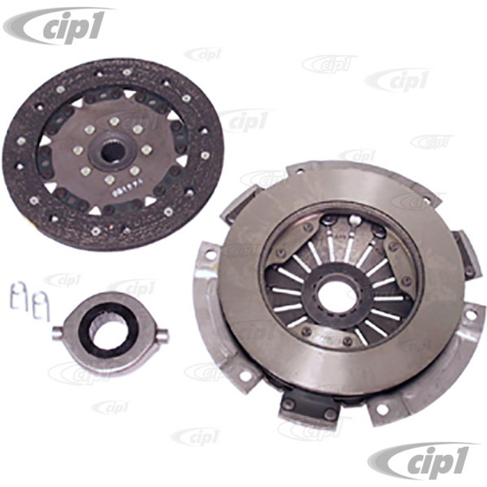 VWC-111-140-025-EKIT - (211-141-025-D 211141025D) OE QUALITY 180MM CLUTCH KIT - PRESSURE PLATE / CLUTCH DISC / THROW OUT RELEASE BRG - BEETLE/GHIA 46-66 / BUS 50-62 / TYPE-3 62-65 - SOLD KIT