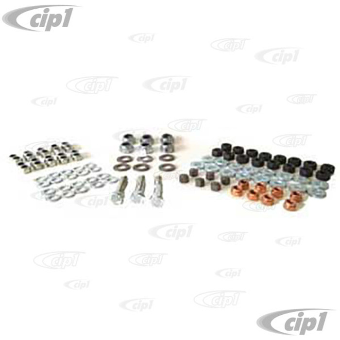 VWC-111-198-008 - (EMPI 4018) DELUXE ENGINE HARDWARE KIT FOR ENGINES WITH 8MM CYLINDER HEAD STUDS - SOLD KIT