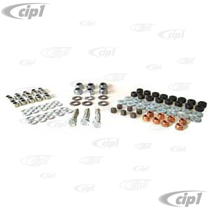 VWC-111-198-010 - (EMPI 4019) DELUXE ENGINE HARDWARE KIT FOR ENGINES WITH 10MM CYLINDER HEAD STUDS - SOLD KIT