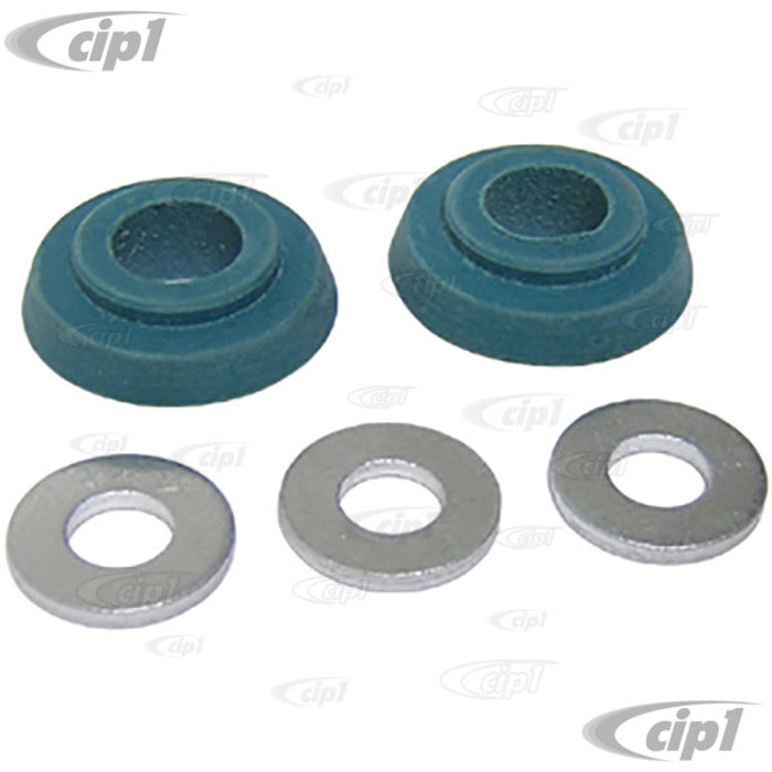 VWC-111-198-029 - OIL COOLER CONVERSION SEAL KIT - 8MM TO 10MM - 40HP 12-1600CC - FOR INSTALLING A LATE OIL COOLER ON A EARLY ENGINE