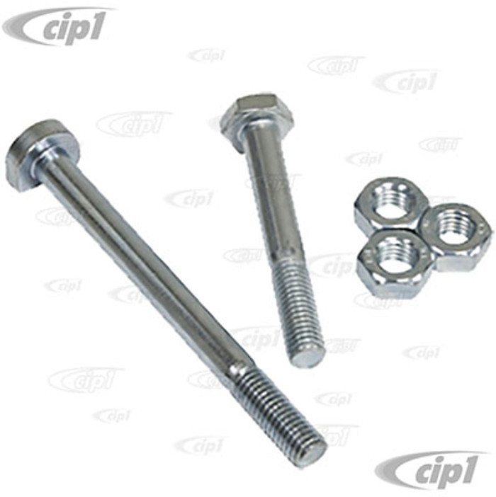 VWC-111-198-101-KT - ENGINE MOUNTING BOLT SET - 5 PIECE KIT TO MOUNT 1971 AND LATER DUAL PORT ENGINE TO TRANSMISSION - SOLD SET