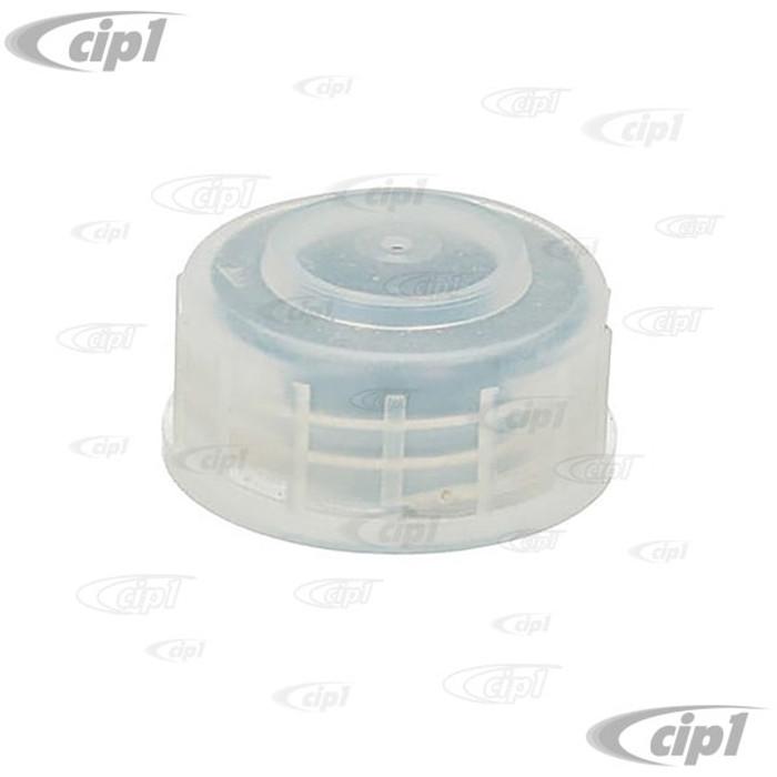 VWC-111-611-349 - (111611349) BRAKE FLUID RESERVOIR CAP - BEETLE 61-79 / GHIA 61-74 / TYPE-3 62-74 / THING 73-74 / BUS 73-79 - SOLD EACH