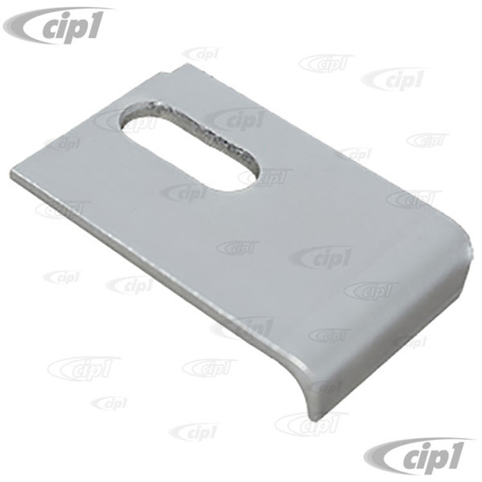 VWC-111-721-231-G - PEDAL STOP PLATE - STOP BRAKE FROM FALLING FORWARD - (FOR USE WITH AFTERMARKET FLOOR PANS) BEETLE 58-70 - SOLD EACH