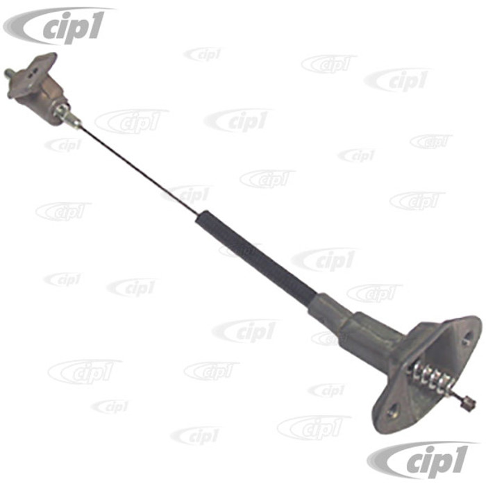 VWC-111-809-939-C - GAS DOOR CABLE STANDARD BEETLE 71-1/2 -77 (FROM CHASSIS # 1112428099) - (NOT SUPER BEETLE) - SOLD EACH