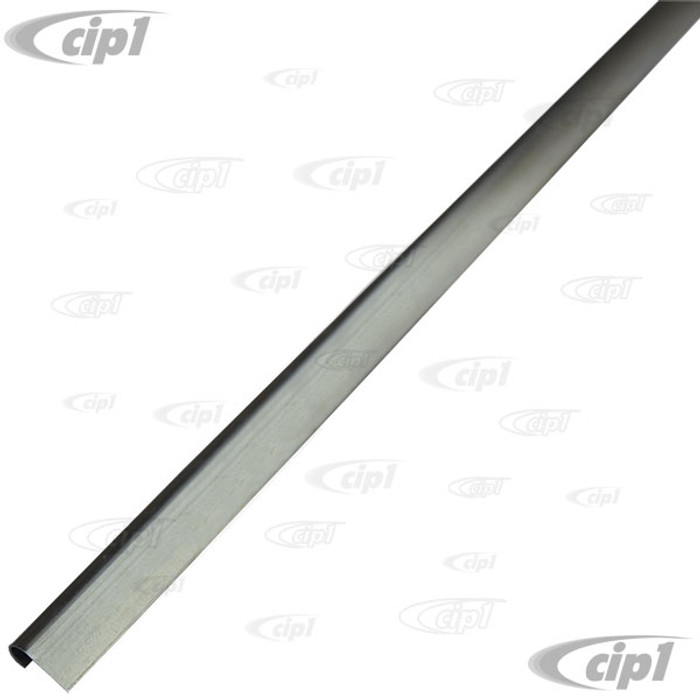 VWC-111-813-311 - (111813311) GERMAN - FRONT HOOD OR ENGINE LID SEAL C-CHANNEL (43 INCH - 110CM LONG) WELDS TO CAR - BEETLE 46-79 - SOLD EACH