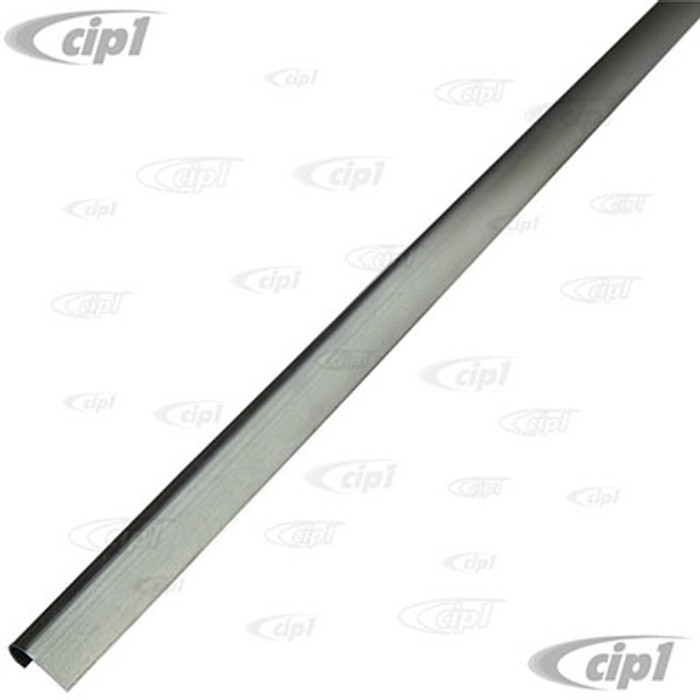 VWC-111-813-311-PR - (111813311) GERMAN - PAIR OF FRONT HOOD OR ENGINE LID SEAL C-CHANNEL (43 INCH - 110CM LONG) WELDS TO CAR - BEETLE 46-79 - SOLD PAIR