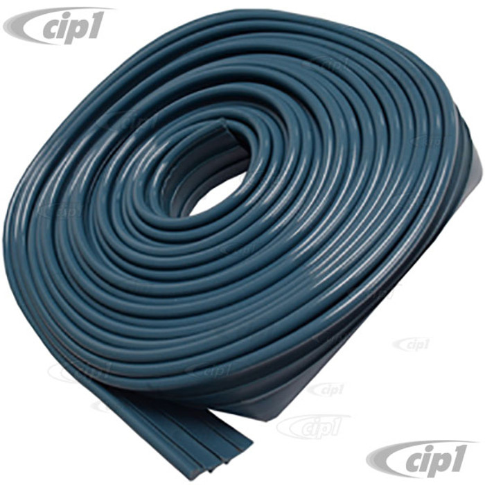 VWC-111-821-707-BGB - 1 ROLL OF GULF BLUE FENDER BEADING - WILL DO 4 FENDERS ON 1 CAR - BEST QUALITY - BEETLE 46-79 - SOLD ROLL