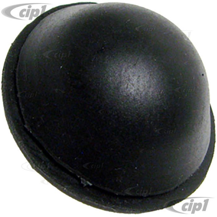 VWC-111-827-527 - (111827527) GERMAN - REAR APRON RUBBER CAP - UNDER LID LOCK LATCH - BEETLE 1967 ONLY - SOLD EACH