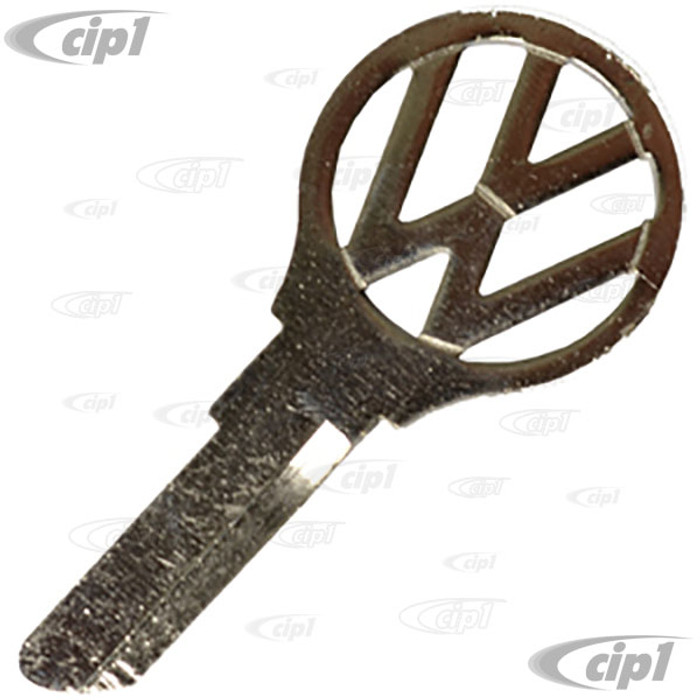 VWC-111-837-219-A99 - (111837219A) OE GENUINE VW - MADE IN GERMANY - KEY BLANK - A/D/E/F/V/Z PROFILE - BUS 55 to MID-64 - SOLD EACH